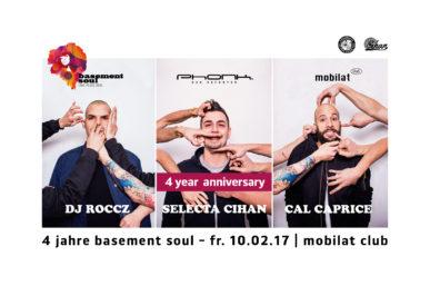 4 Jahre Basement Soul @ 10.02.2017 @ Mobilat Club