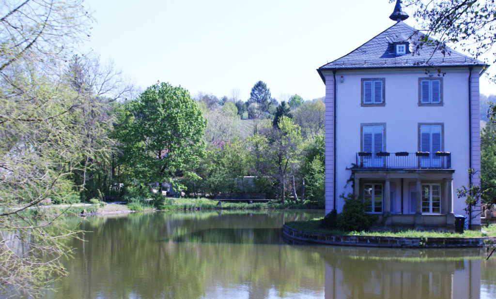 Parks in Heilbronn - Pfühlpark (Trappensee)