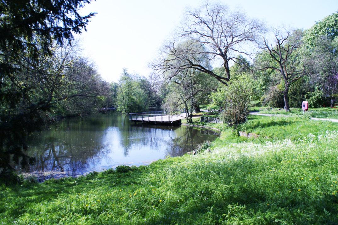 Parks in Heilbronn - Pfühlpark und Trappensee (Titel)