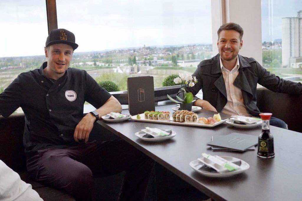 Club Kaiser Skybar - Sushi Heilbronn (Thomas & Philipp)