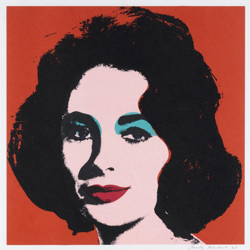 The Great Graphic Boom – Andy Warhol, Liz (Liz Taylor), 1964