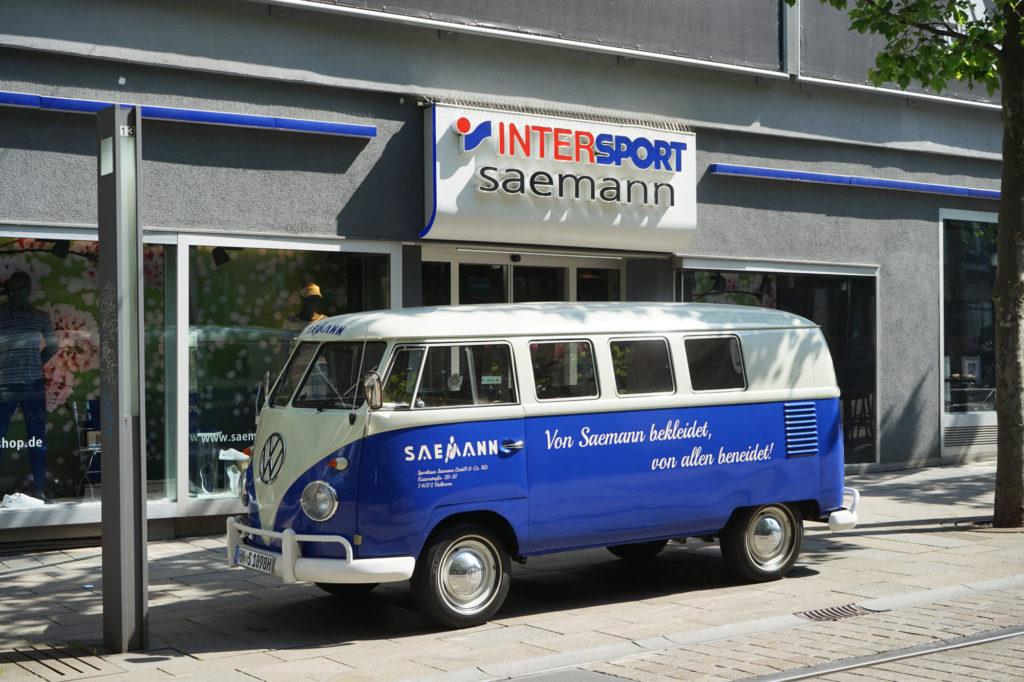 SAEMANN – Intersport Heilbronn (T1 Bulli)