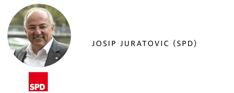 Bundestagswahl 2017 in Heilbronn - Josip Juratovic (SPD)