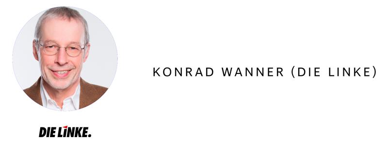Bundestagswahl 2017 in Heilbronn - Konrad Wanner (Die Linke)