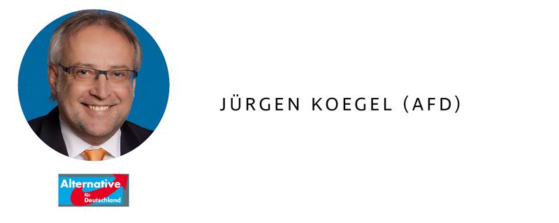 Bundestagswahl 2017 in Heilbronn - Jürgen Koegel (AfD)