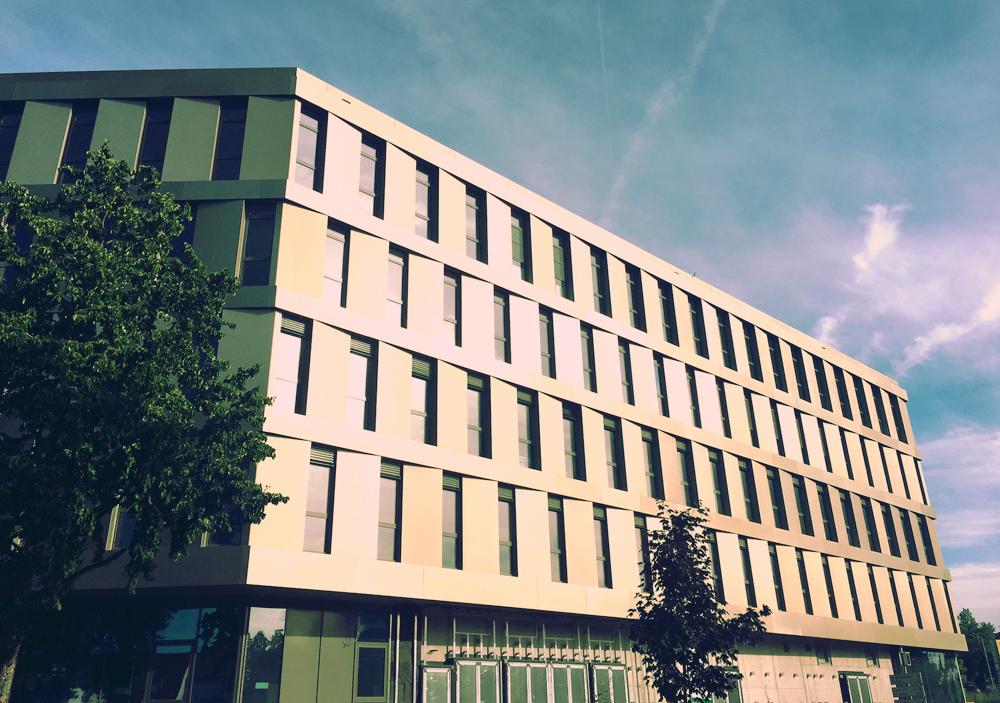 Moderne Architektur in Heilbronn - Q-Süd 1