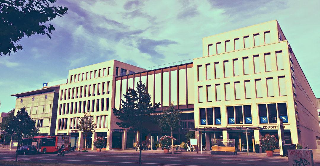 Moderne Architektur in Heilbronn - TITEL (Heilbronner Bankhaus)