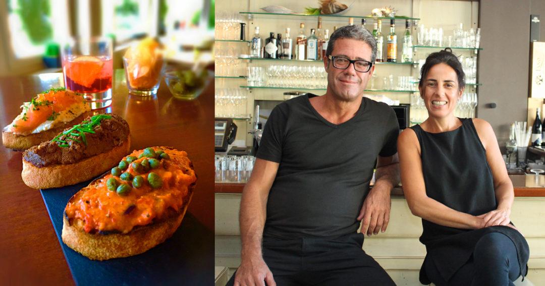 Paolo vom eckstein Heilbronn - Rezept für Bruschette mal anders
