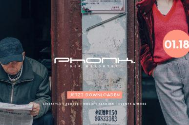 Jetzt downloaden: Phonk 01.18 – Das Magazin