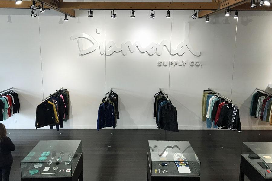 Fairfax Avenue Streetwear Los Angeles - Diamond Supply Co