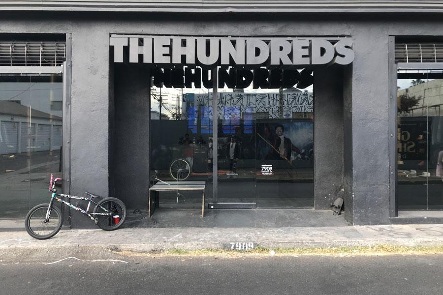 Fairfax Avenue Streetwear Los Angeles - The Hundreds