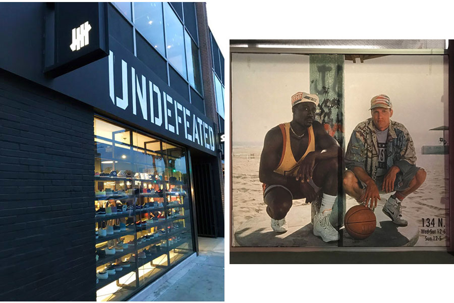 Fairfax Avenue Streetwear Los Angeles - Undefeated White Men Cant Jump