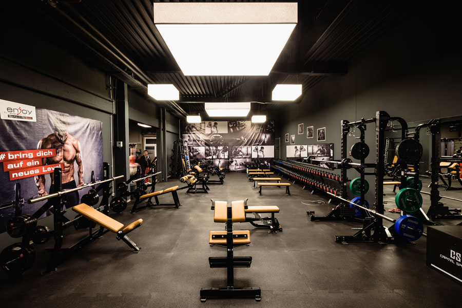 Fitnessstudios in Heilbronn - enjoy fitness club EINACH FIT 24h Obersulm