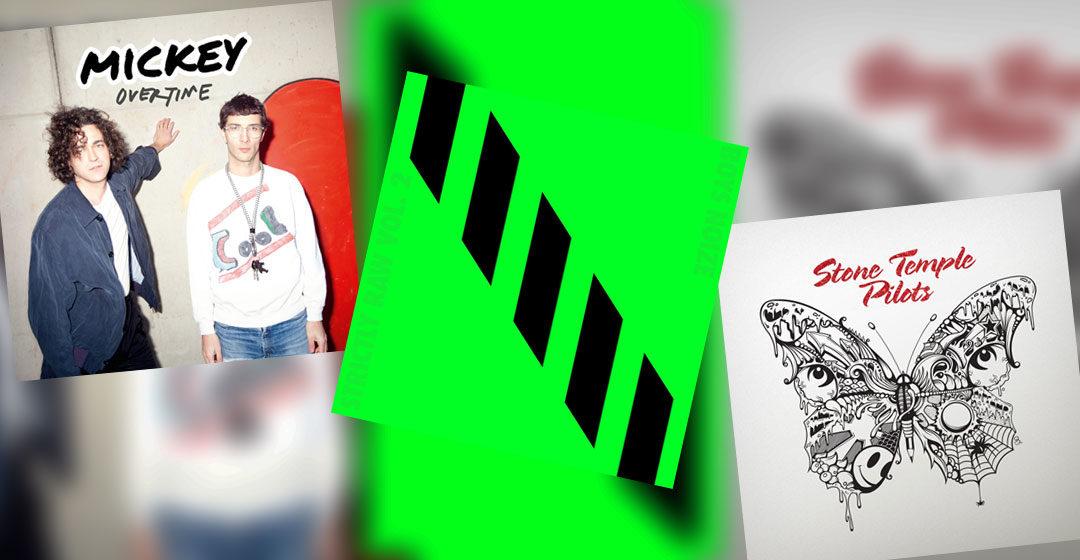Neue Musik im April 2018 - Boys Noize, Mickey, Stone Temple Pilots