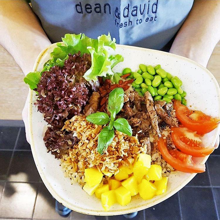 Yummy - Poke Bowl Rezept - dean&david Heilbronn