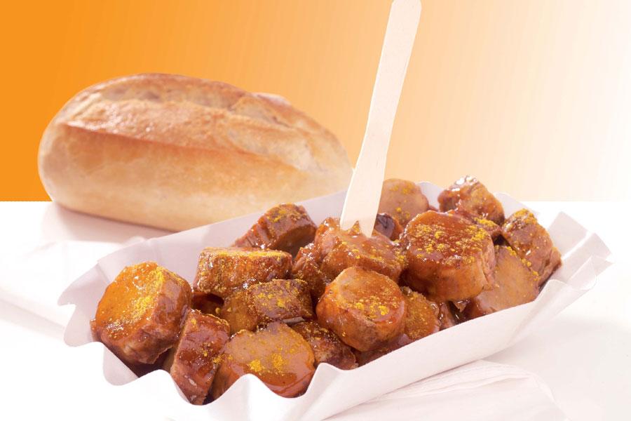 Rezept Currywurst Currysauce - Wurst Brot Heilbronn
