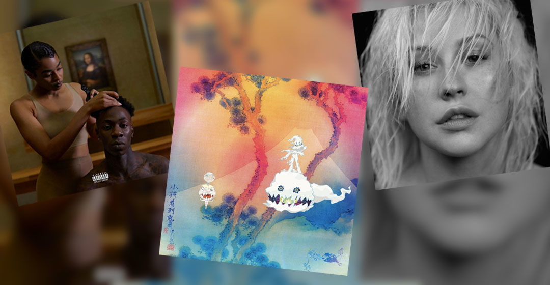 Neue Musik im Juli 2018 - Kids See Ghosts / THE CARTERS / Christina Aguilera