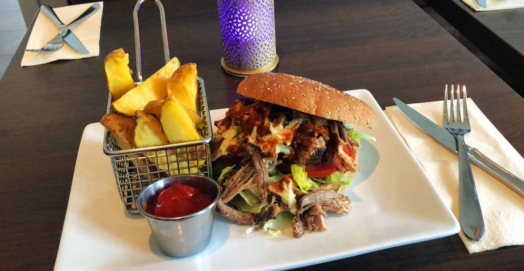 Yummy - Bahnlounge 1907 - Pulled Pork Burger (Titel)