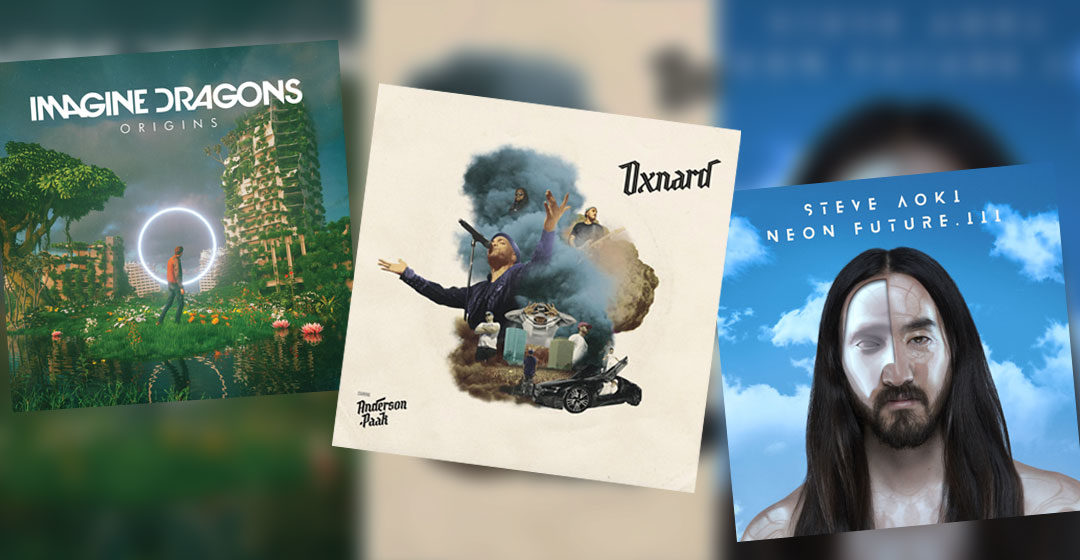 Neue Musik im Dezember 2018 - Anderson Paak, Imagine Dragons & Steve Aoki