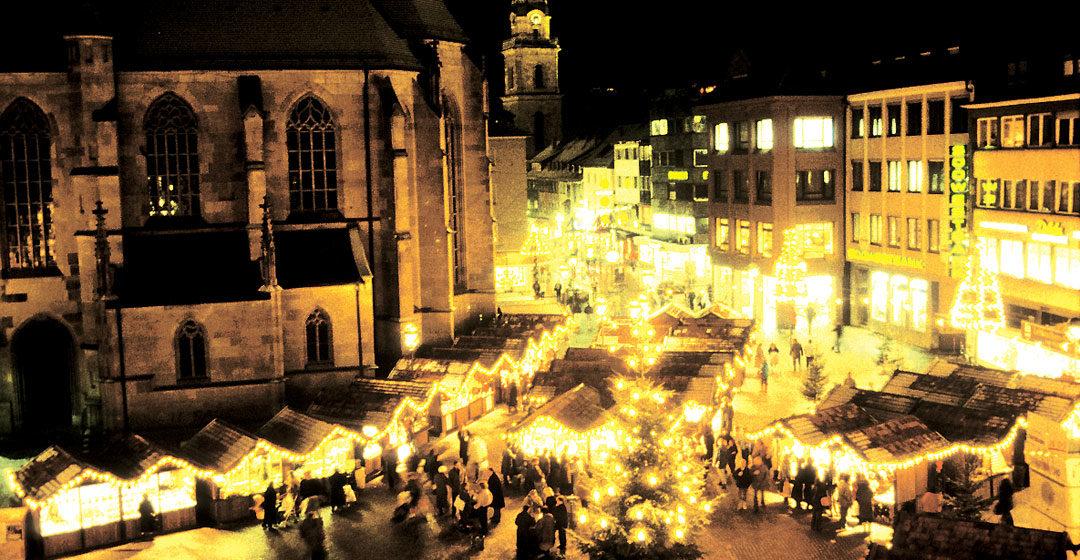 Heilbronner Weihnachtsmarkt - Tradition & Moderne 1