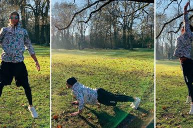 Winter-Workout mit Roland Erb
