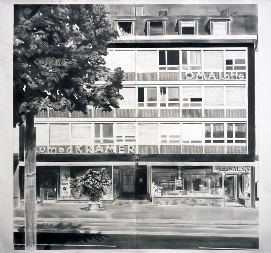 Yves Bélorgey - Schwarze Spiegel (Heilbronn) 2