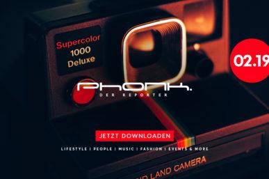 Jetzt downloaden: Phonk 02.19 – Das Magazin