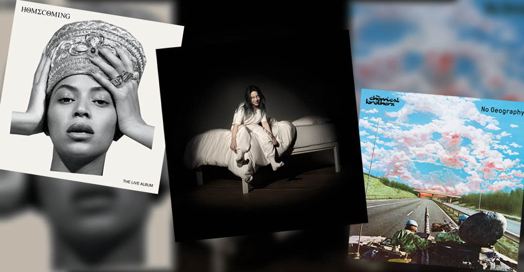 Neue Musik im Mai 2019 - Billie Eilish, Beyonce & The Chemical Brothers