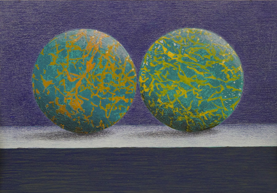 Eberhard Fendrich - touching balls (Zigarre Heilbronn) 2
