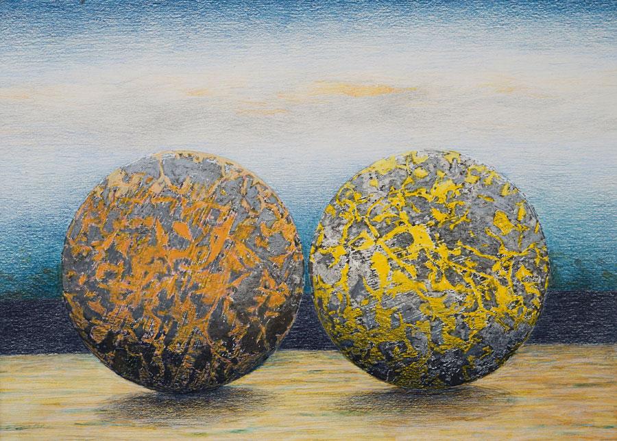 Eberhard Fendrich - touching balls (Zigarre Heilbronn) 3