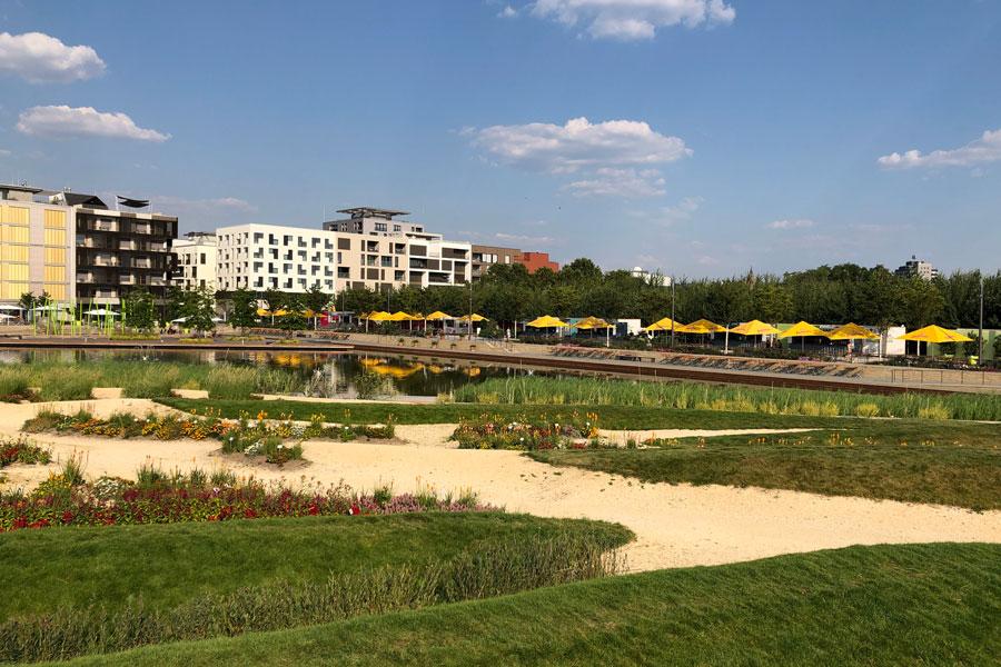 BUGA Heilbronn 2019 - Floßhafen