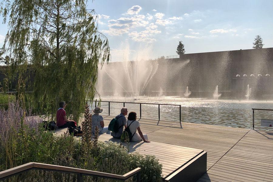 BUGA Heilbronn 2019 - Wassershow