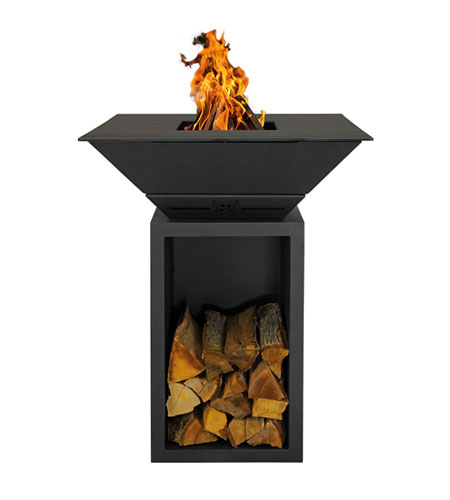 BlackBull Grills - BigQube Wood M Schwarz