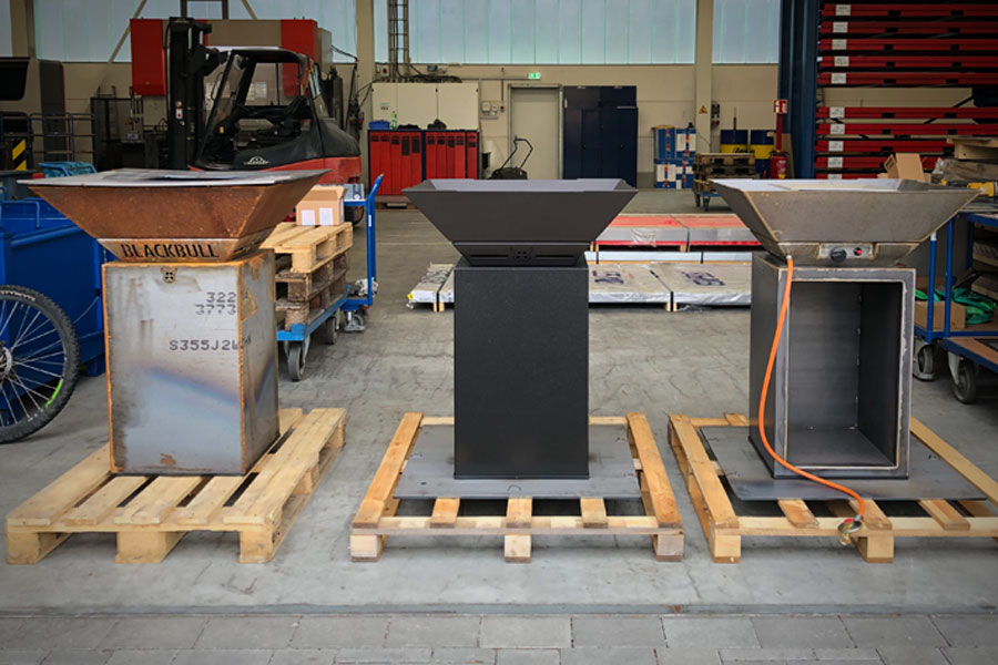 BlackBull Grills - Produktion (1)