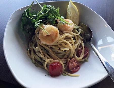 Yummy - Uferglück (Spaghetti White Tiger Garnelen)