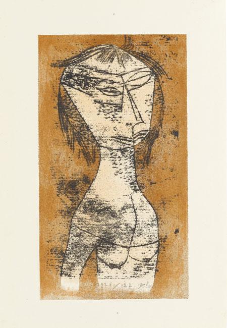 Drucksache Bauhaus - Staatsgalerie Stuttgart 2020 (Paul Klee - Die Heilige vom innern Licht)