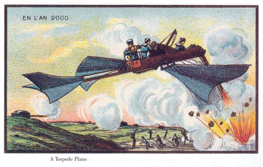 Zukunftsvisionen auf dem Prüfstand - Torpedo-Flugzeug