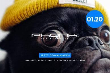 Jetzt downloaden: Phonk 01.20 – Das Magazin