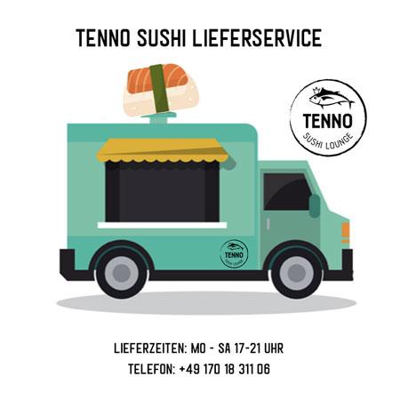 Guide - Lieferdienste To Go Corona Heilbronn (Tenno Sushi)