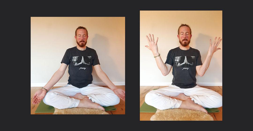 Yoga Übungen daheim - Steffen Satwant