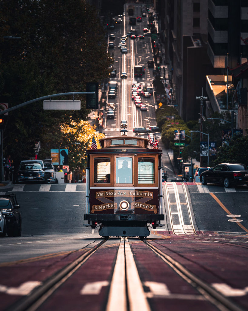 Dimitri Luft - California Street, San Francisco
