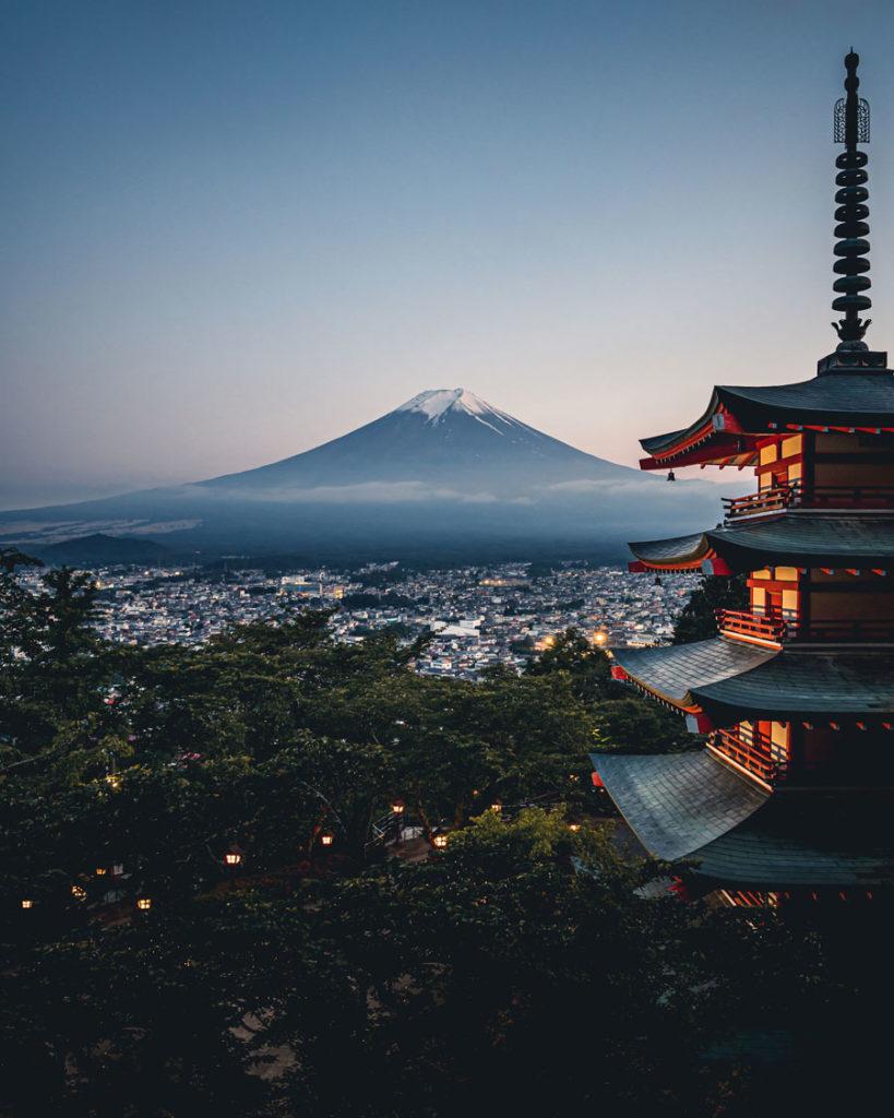 Dimitri Luft - Fujiyoshida, Mt Fuji, Tokyo