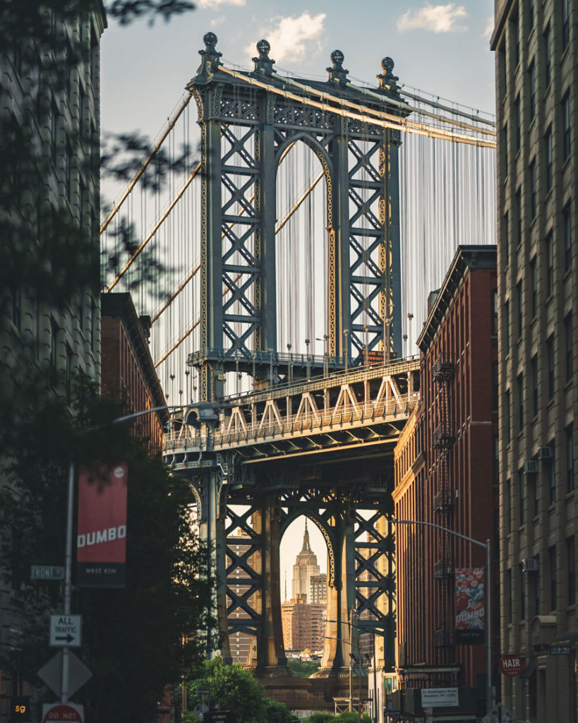 Dimitri Luft - Manhattan Bridge, New York City