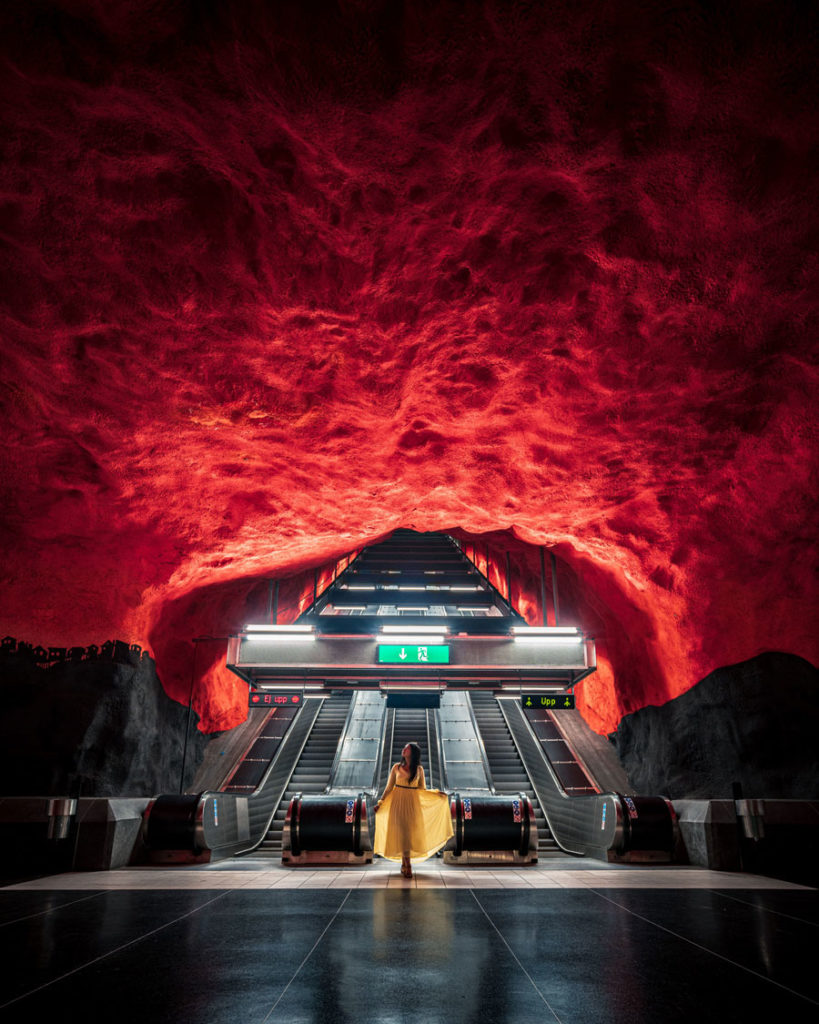 Dimitri Luft - Solna Centrum Station, Stockholm