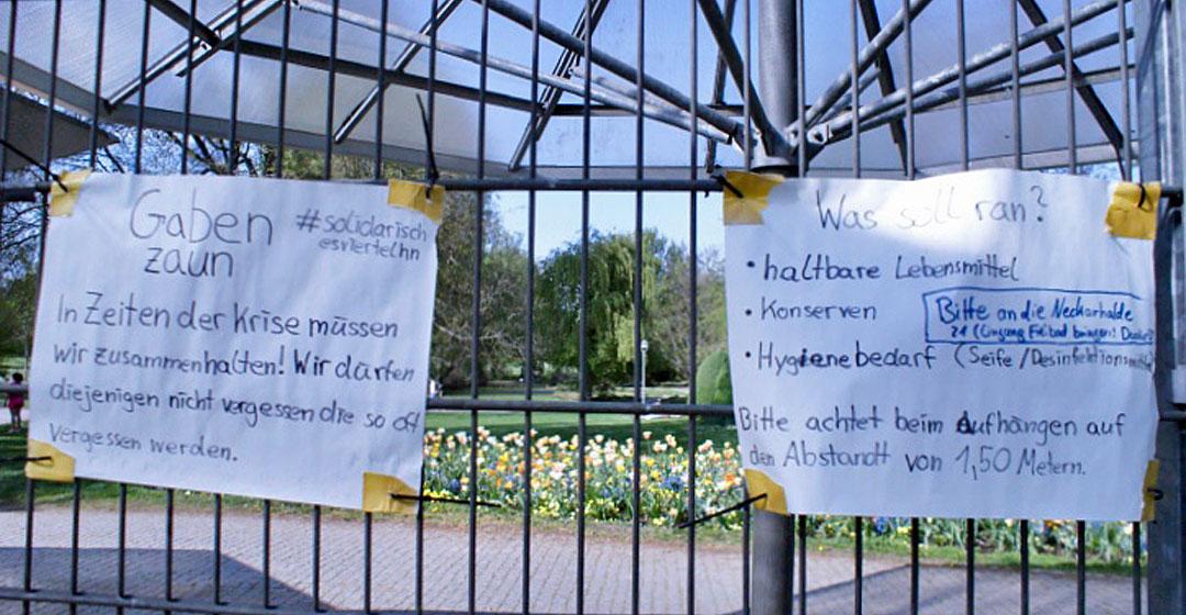 Gabenzaun Wertwiesenpark Heilbronn (1)