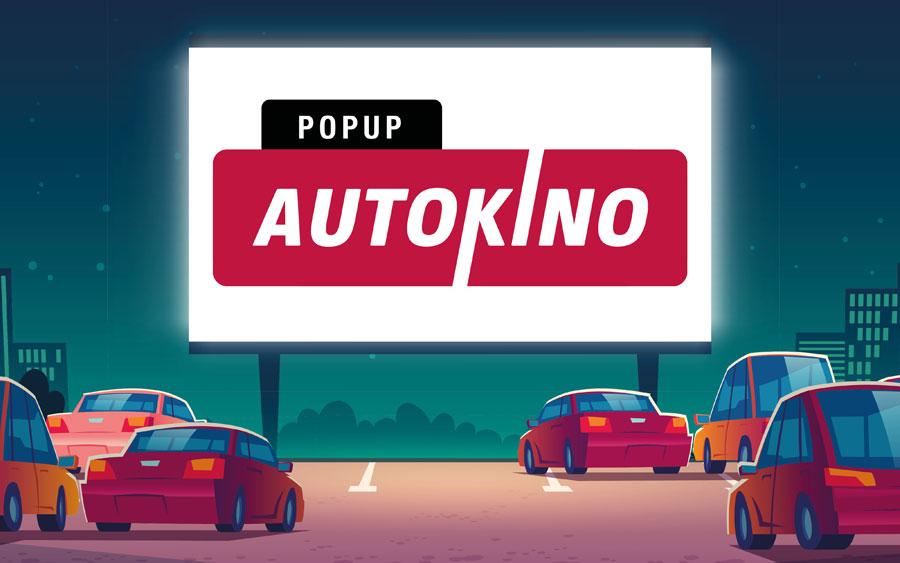 Popup-Autokino Heilbronn - Banner