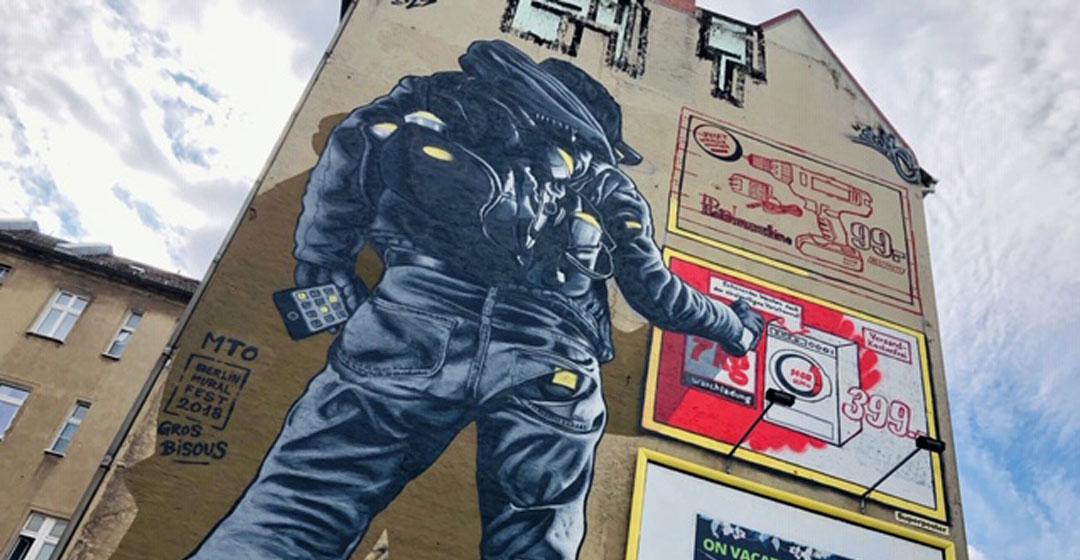 Berlin Streetart Tour - 1