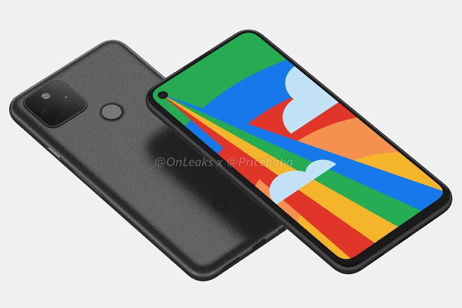 Google Pixel 5 (Render)