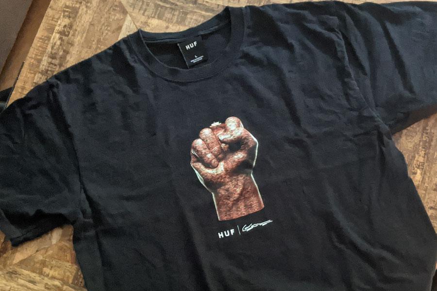 HUF Worldwide x Haroshi Justice T Shirt - 1