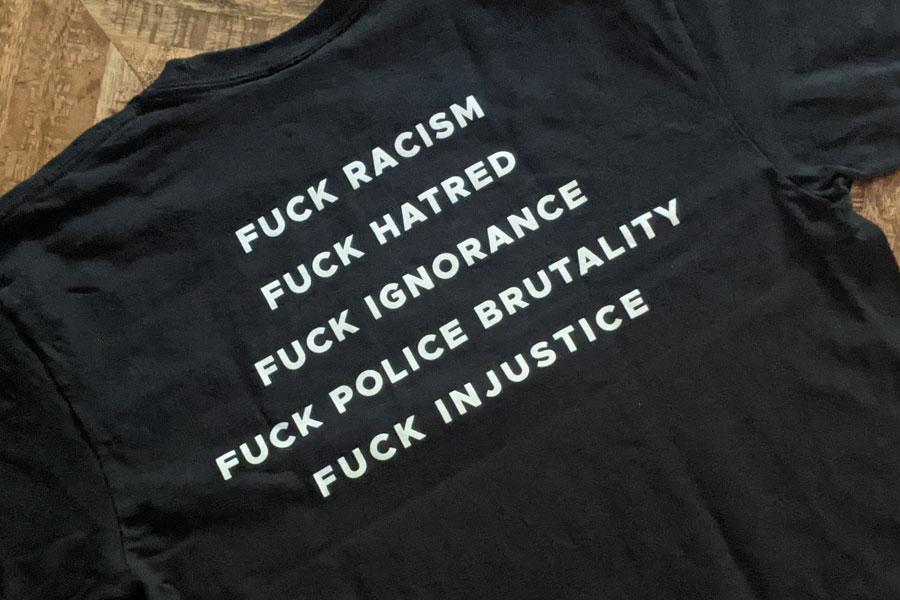 HUF Worldwide x Haroshi Justice T Shirt - 2